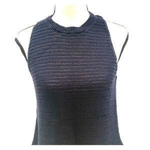Madewell knit top in Navy